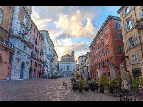 Places to see in ( Ancona - Italy ) Piazza del Plebiscito di