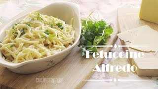 Fettuccine Alfredo - Receta Original