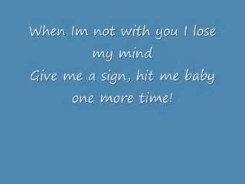 Thumbnail: Hit Me Baby One More Time With Lyrics
