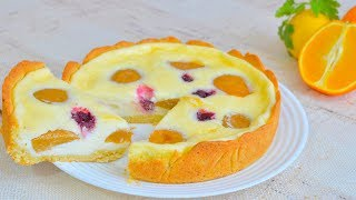 Сметанный пирог рецепт простой