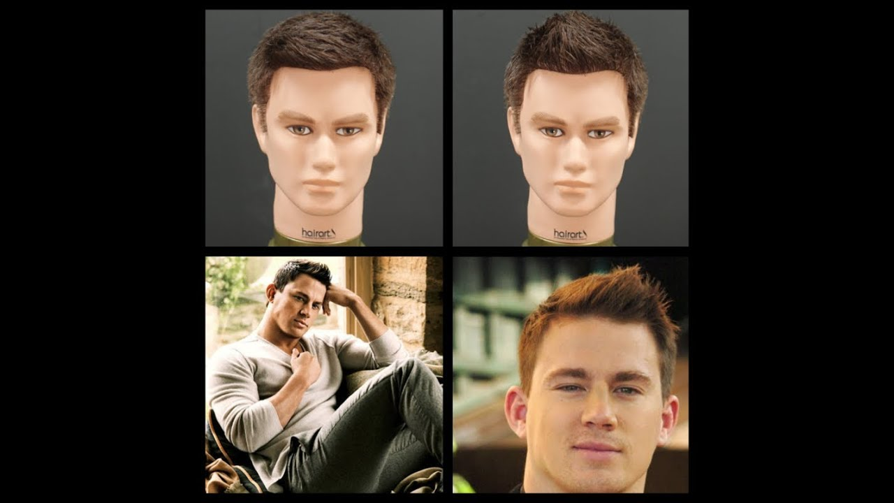 Channing Tatum Haircut Hairstyle Tutorial Thesalonguy Youtube