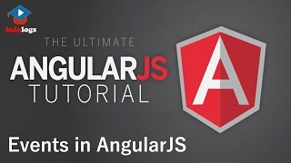 AngularJS Video Tutorials - How to use Events