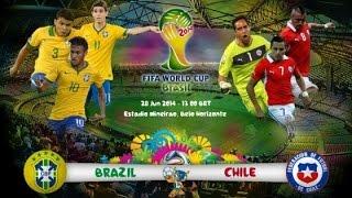 Fifa 14 ► neymar vs chile [world cup 2014] hd 720p (28/06/2014)