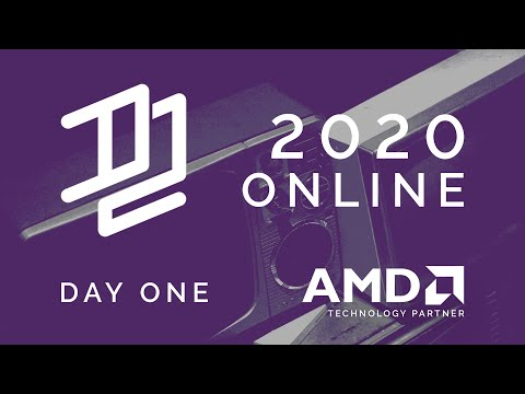 D2 2020 ONLINE - Live 3d Design and Visualization Conference