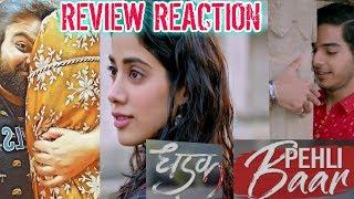 Pehli Baar song | DHADAK | Review | Reaction | ishaan & Janhvi | Ajay gogavale | AJAY - ATUL