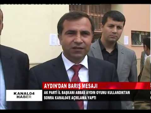 Ak Parti Ağrı İl Başkanı Av.Abbas Aydın Genel Seçim Oyunu Kullandı