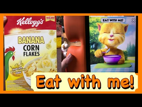 Eating With Ginger Cat - Talking Ginger EAT WITH ME