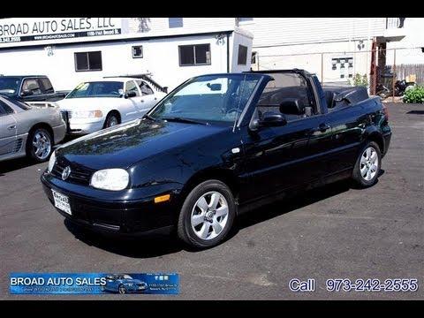 2001 Volkswagen Cabrio 2 0 Glx 5 Sd Convertible