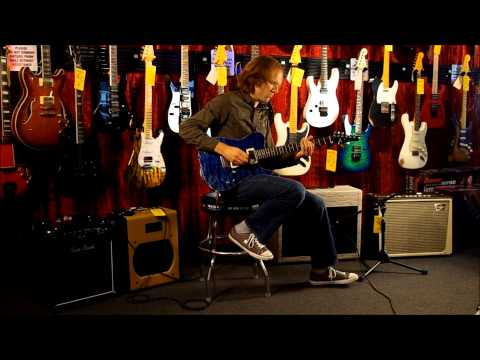 Tom Anderson Cobra Jack's Pacific Blue with Morgan SW22R Combo and Timmy Overdrive