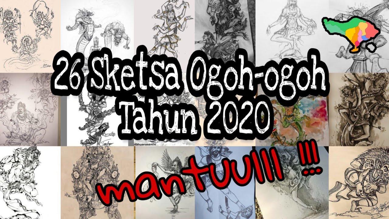 Mantap 26 Sketsa Ogoh Ogoh Tahun 2020