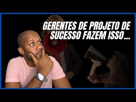 Gerentes de projeto de sucesso fazem isso