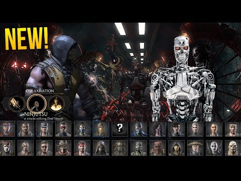 """Mortal Kombat  New Character TERMINATOR?! """"T ABILITIES & FATALITY!"""" (Special Guest Character)"""