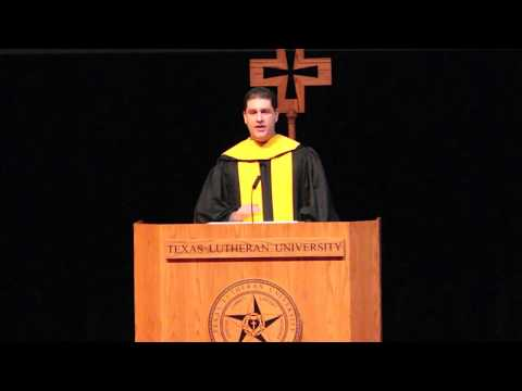 Afford To Care™ ǀ Commencement Speech ǀ Texas Lutheran University