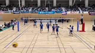 20181129 全日本インカレ 3回戦 東亜大学vs筑波大学 1セット目