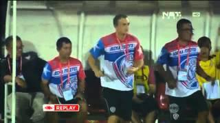 Highlights Arema Cronus Vs Bali United [2-1] Piala Bhayangkara 19 Maret 2016