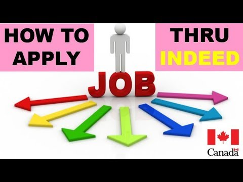 How To Apply For Jobs In Canada | Indeed