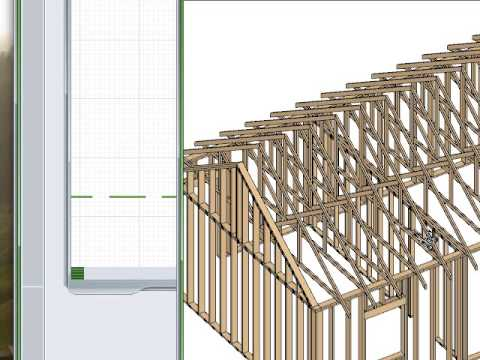 Building Roof Trusses Amp Scissor Trusses In Chief Architect