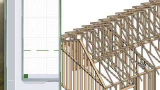 Building Roof Trusses & Scissor Trusses In Chief Architect (www.chieftutor.com)