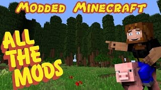 Hey guys we're back again!!, doing a brand new modded Minecraft ser...