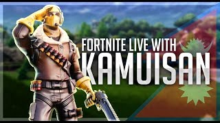 🔴LIVE🔴BACK, CUSTOM GAMES- Creator code - Kamui-San 🔴Fortnite🔴 - Kamui san