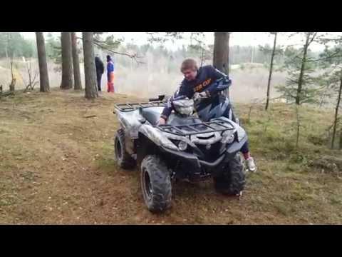 Обзор Yamaha Grizzly 700 2016 от ATV ZONE