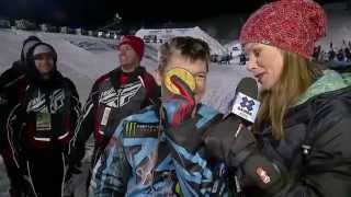 Heath Frisby wins gold in Snowmobile Long Jump