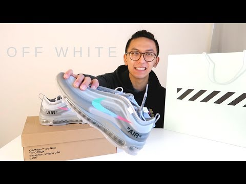 nike off white air max 97 menta unboxing and review