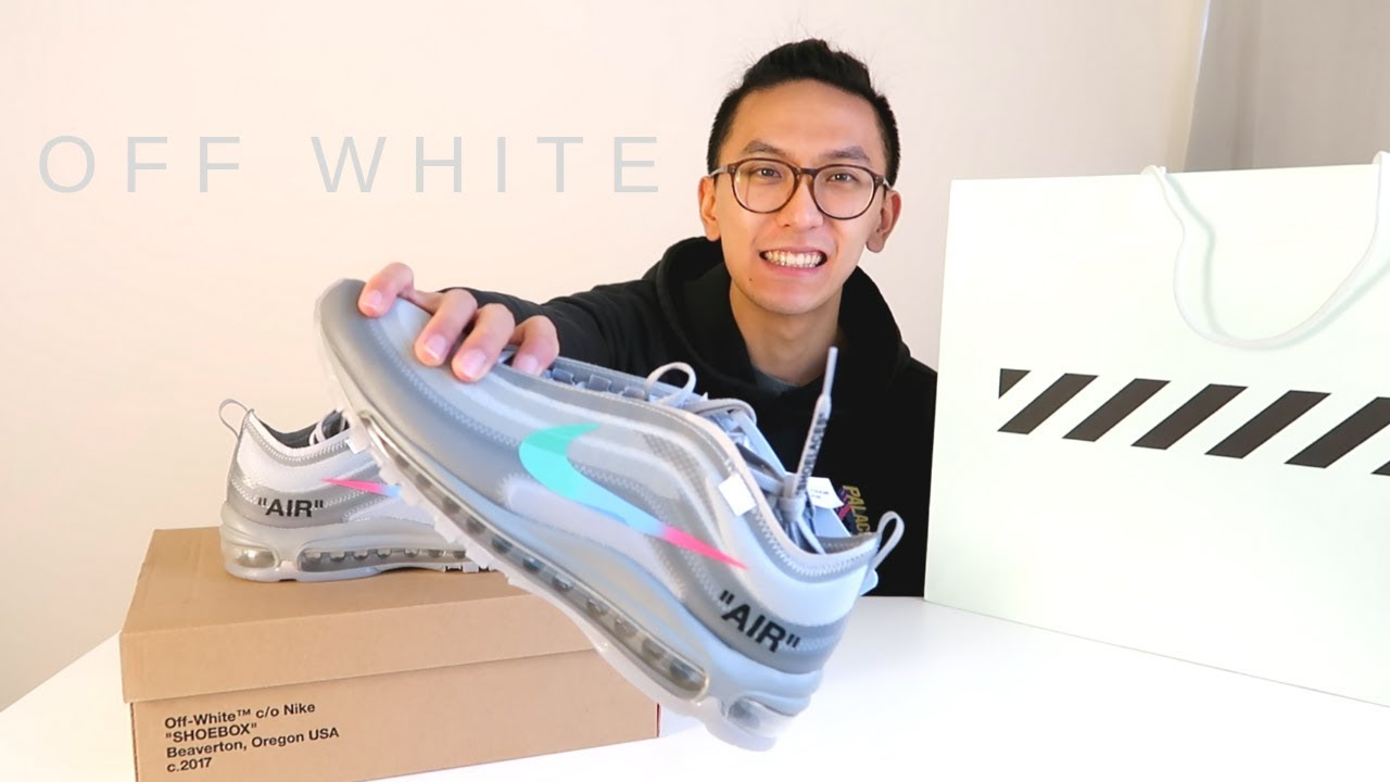 d37fdb2ea57f nike off white air max 97 menta unboxing and review - YouTube