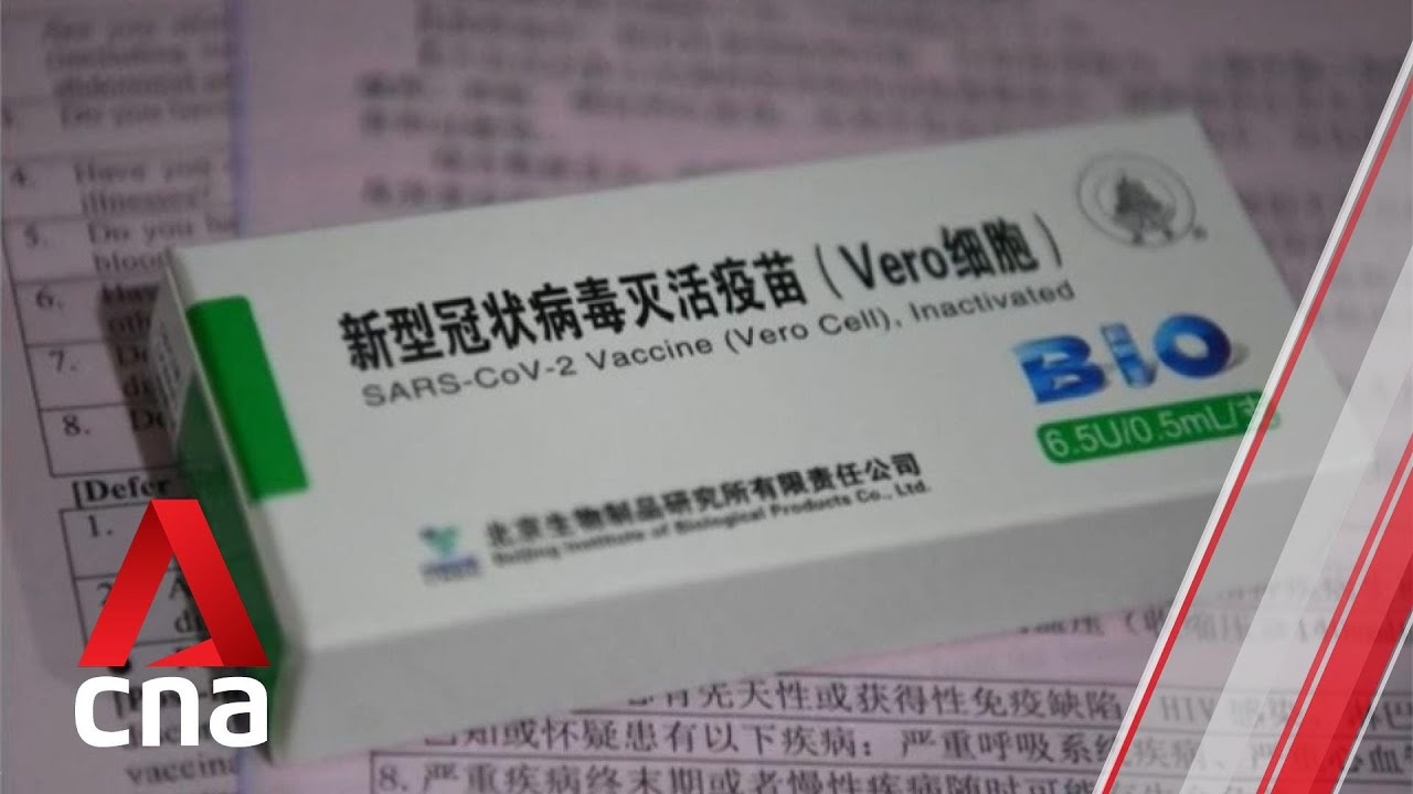 COVID-19: WHO set to decide on emergency use of 2 Chinese vaccines