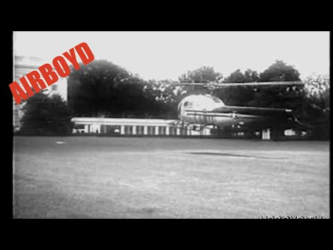HMX-1 Helicopter Trials White House (1957)