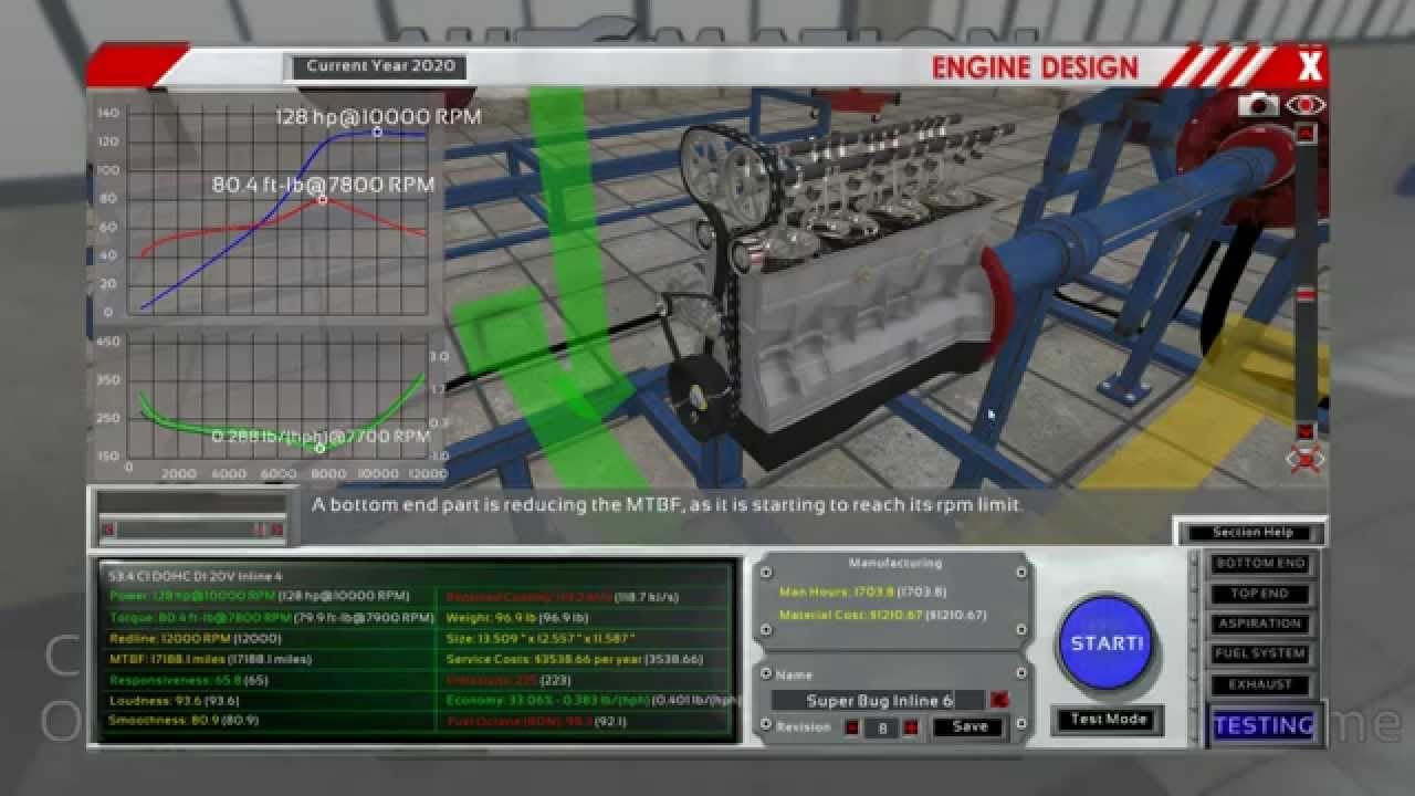 Realistic Engine Building Game 001 Why Is This Game Not On Steam Youtube