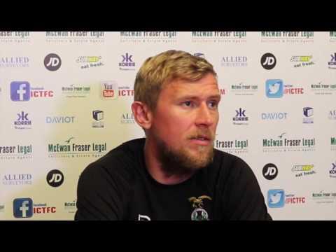CaleyJagsTV : Richie Foran Preview v Celtic FC : 16/09/16