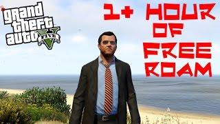 Grand Theft Auto V - 1 Hour of Pure Free Roam Exploration Gameplay • PC 1080p 60fps
