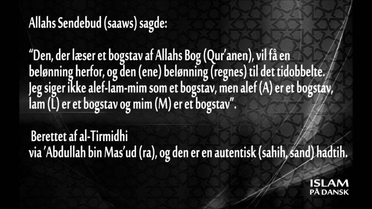 tilgivelse i islam