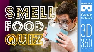The Smell Round | Common Senses Quiz (VR)