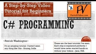C# programming tutorial - Step by Step - PatrickVideos