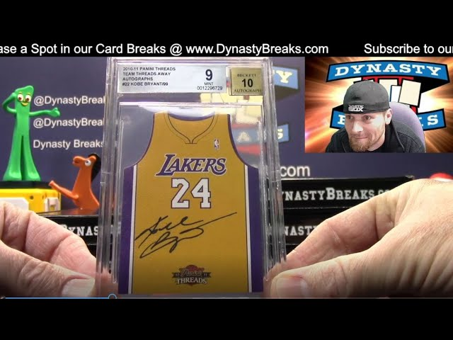 The Dynasty Vault Multi Sport Volume III 11 Box Case Break #3   Sports Cards
