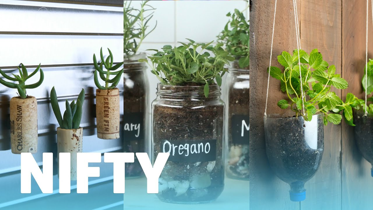 8 Things You Can Upcycle Into Planters Youtube