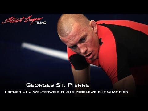 GEORGE ST. PIERRE ROLLS JIUJITSU WITH ADCC CHAMPION BRAULIO ESTIMA