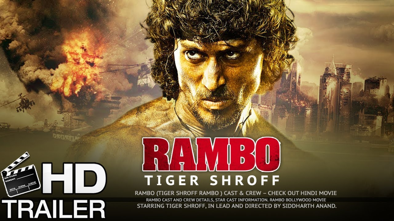 aca17d3034 Rambo Movie First Look 2018 - Official Trailer/Teaser | Tiger Shroff |  Disha Patani