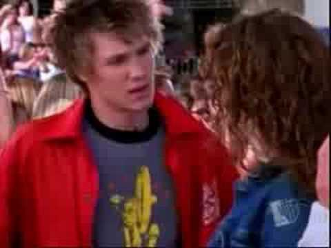 Hilarie Butron & Chad Michael Murray On Dawson's Creek.