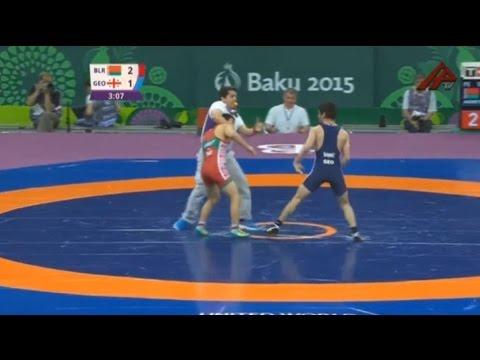 Скандал на Европейских играх: борец из Якутии подрался со спортсменом из Грузии