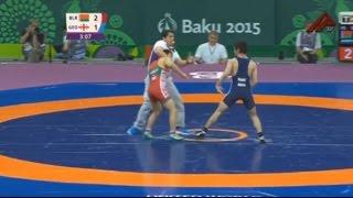 Скандал на Европейских играх: борец из Якутии подрался со спортсменом из Грузии(, 2015-06-17T12:43:12.000Z)
