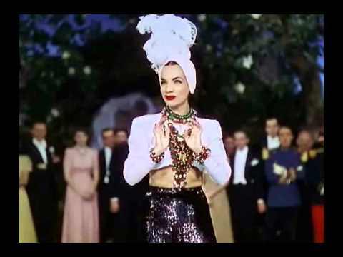 """That Night In Rio (1941) - Carmen Miranda - """"I, Yi, Yi, Yi, Yi (I Like You Very Much)"""""""