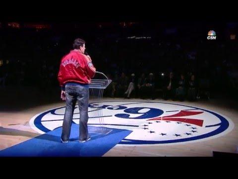Philadelphia 76ers Honor Dolph Schayes