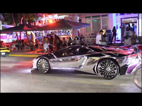 South Beach Miami, FL / Night Life / Ocean Drive 2017