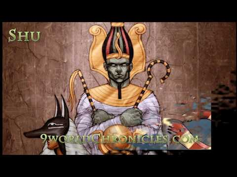 Shu Kemetic God of Air and Wind: Greco Egyptian Mythology