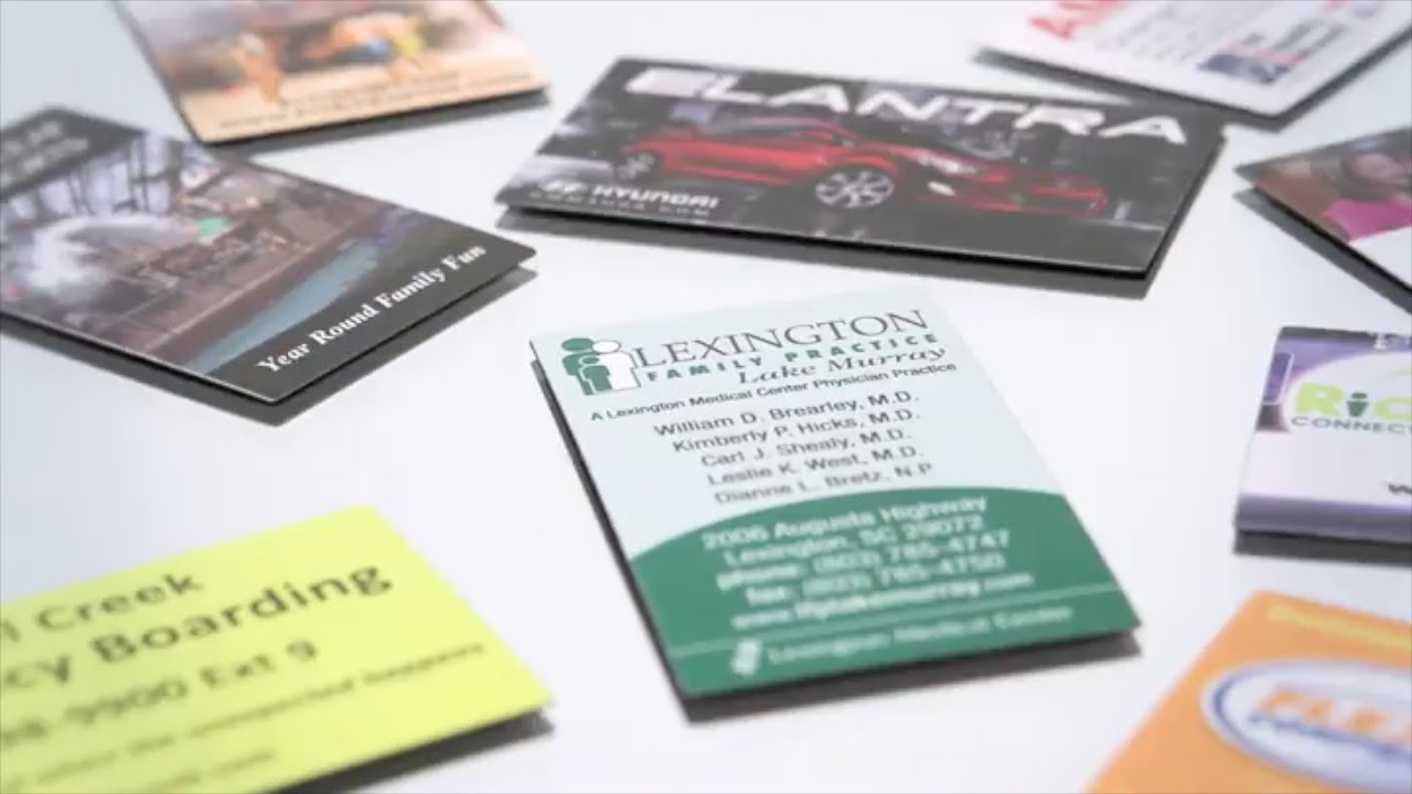 Business Card Magnet Custom Printed Flat Magnets By Promotions Now