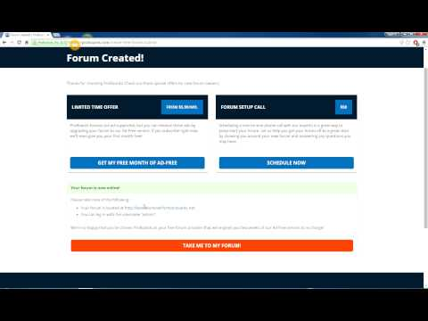 How to create a forum in 2 minutes using ProBoards!