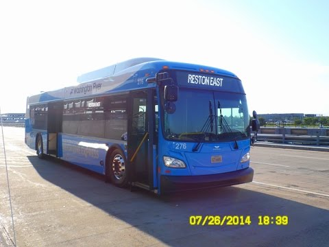 Washington Flyer (Airport Shuttle): 2014 New Flyer XD40 (Diesel) #246 ~ w/ Cummins ISL9